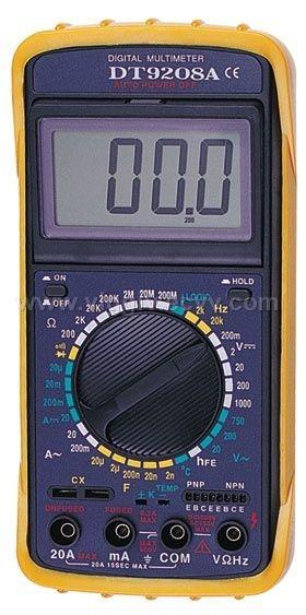 DT 9205A Прибор DT-9205А цифровой мультиметр Постоянное напряжение до 1000В Переменное напряжение до 750В Постоянный...